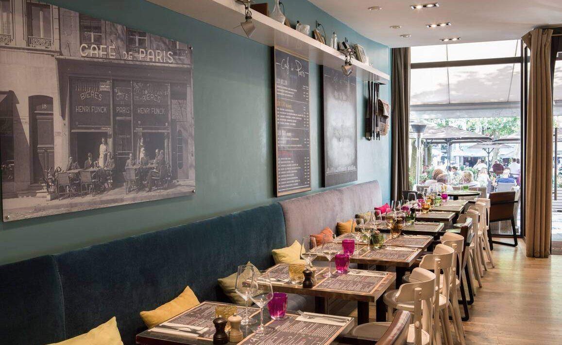 Cafe de Paris, Hotel Place D'Armes