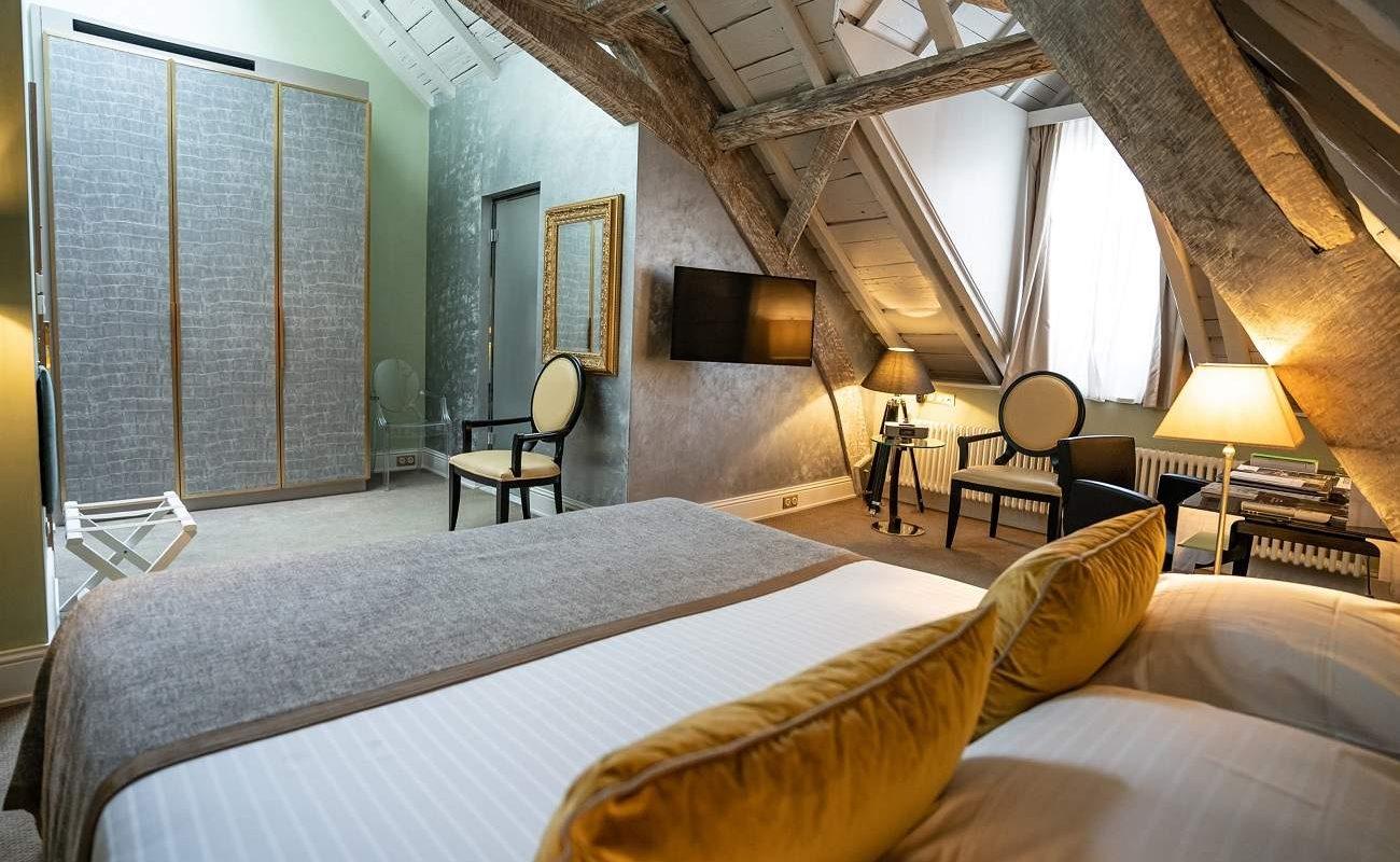 Deluxe Zimmer im Luxushotel in Luxemburg