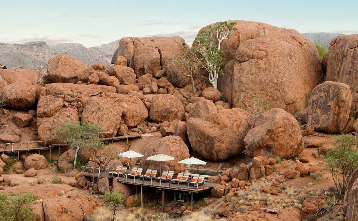 Mowani - eines der Camps Ihrer Rundreise Namibia privat & luxuriös
