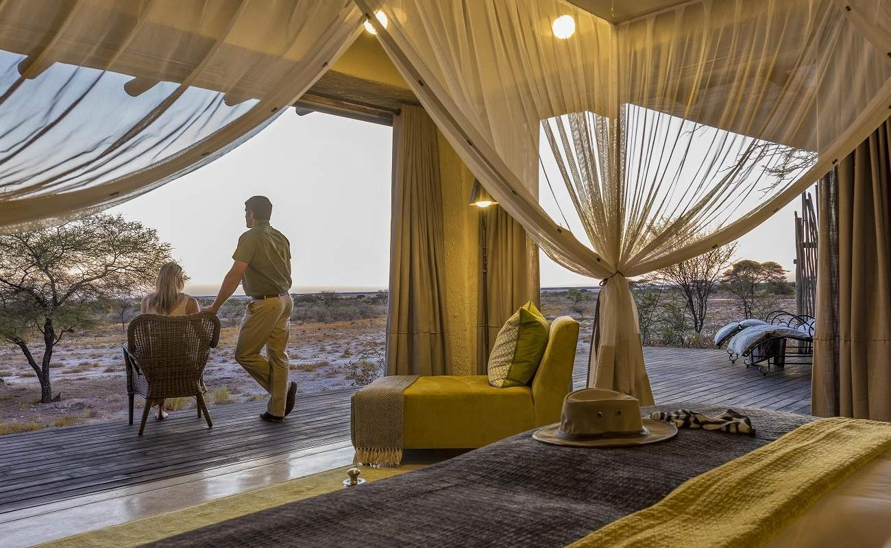 Eine Suite im The Fort - Highlight der Reisen Namibia privat & luxuriös