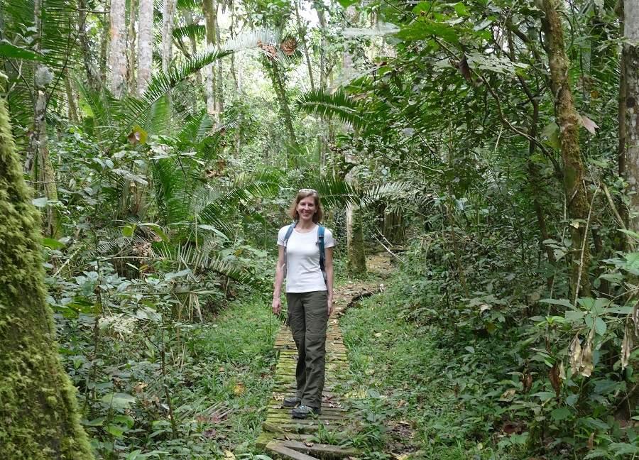 Unterwegs im Kibale Nationalpark