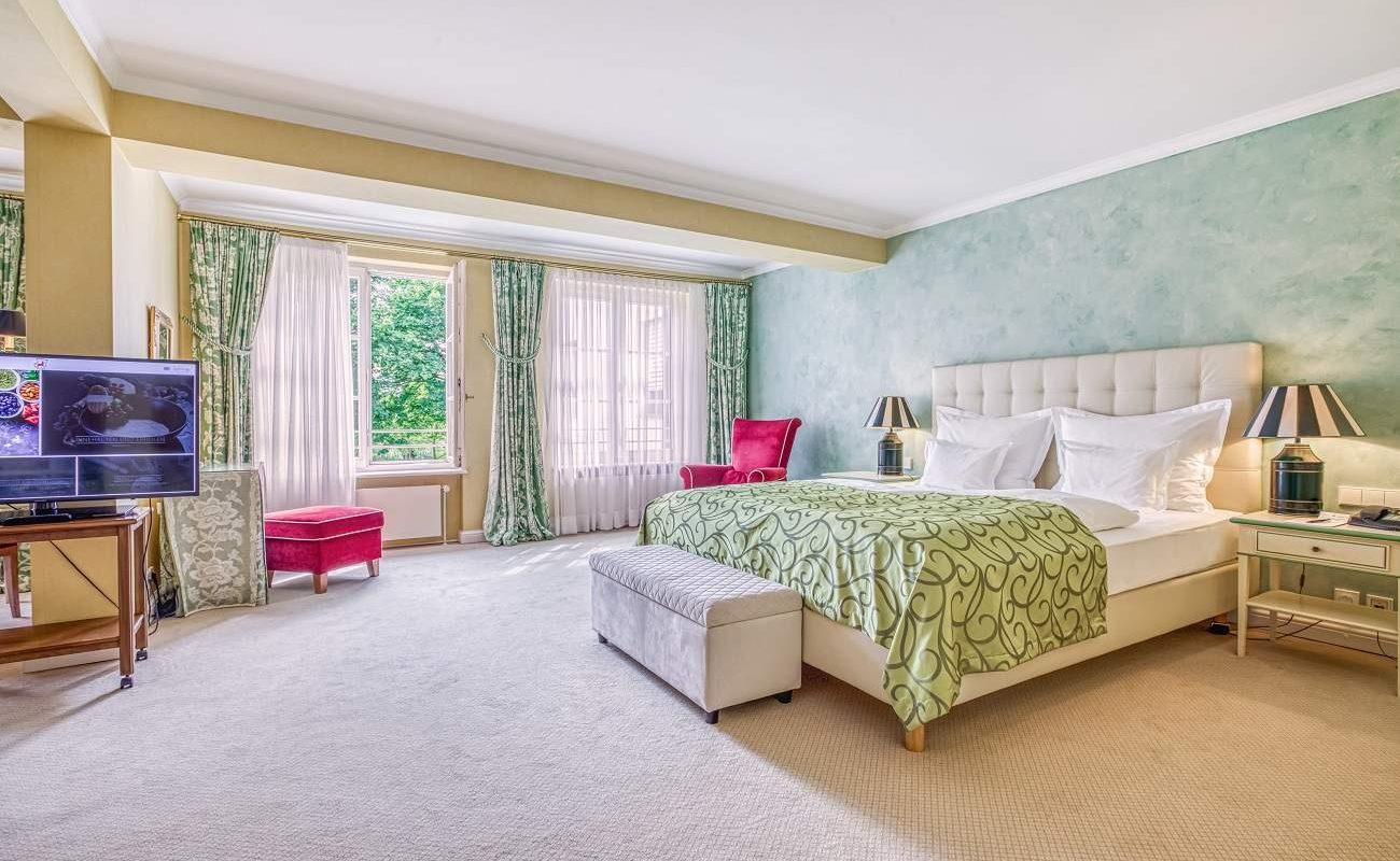 Superior Junior Suite im Haupthaus des Luxushotels von Würth