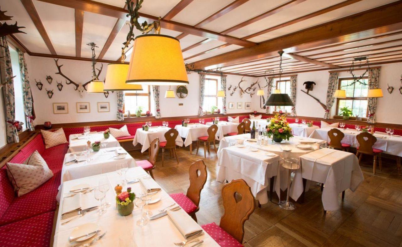 Restaurant Jägerstube im Schlosshotel Friedrichsruhe