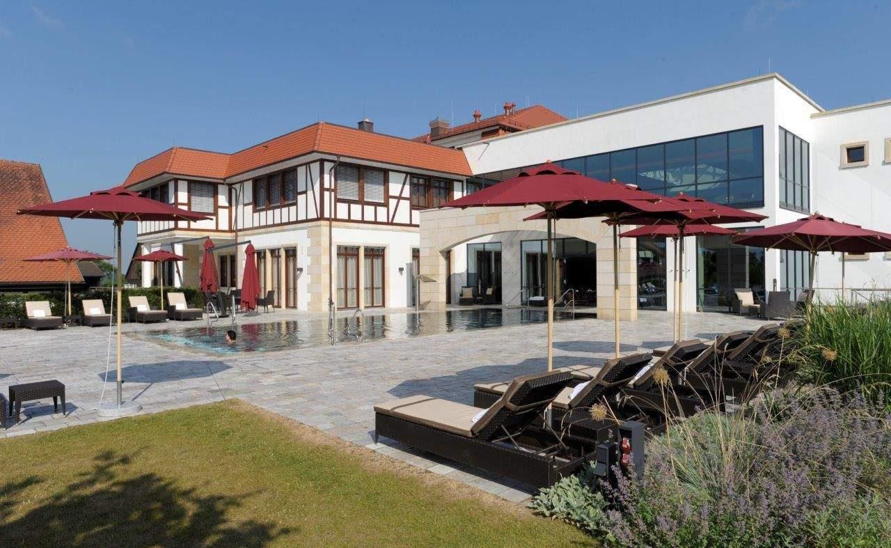 Der SPA Komplex des Luxushotels bei Schwäbisch Hall