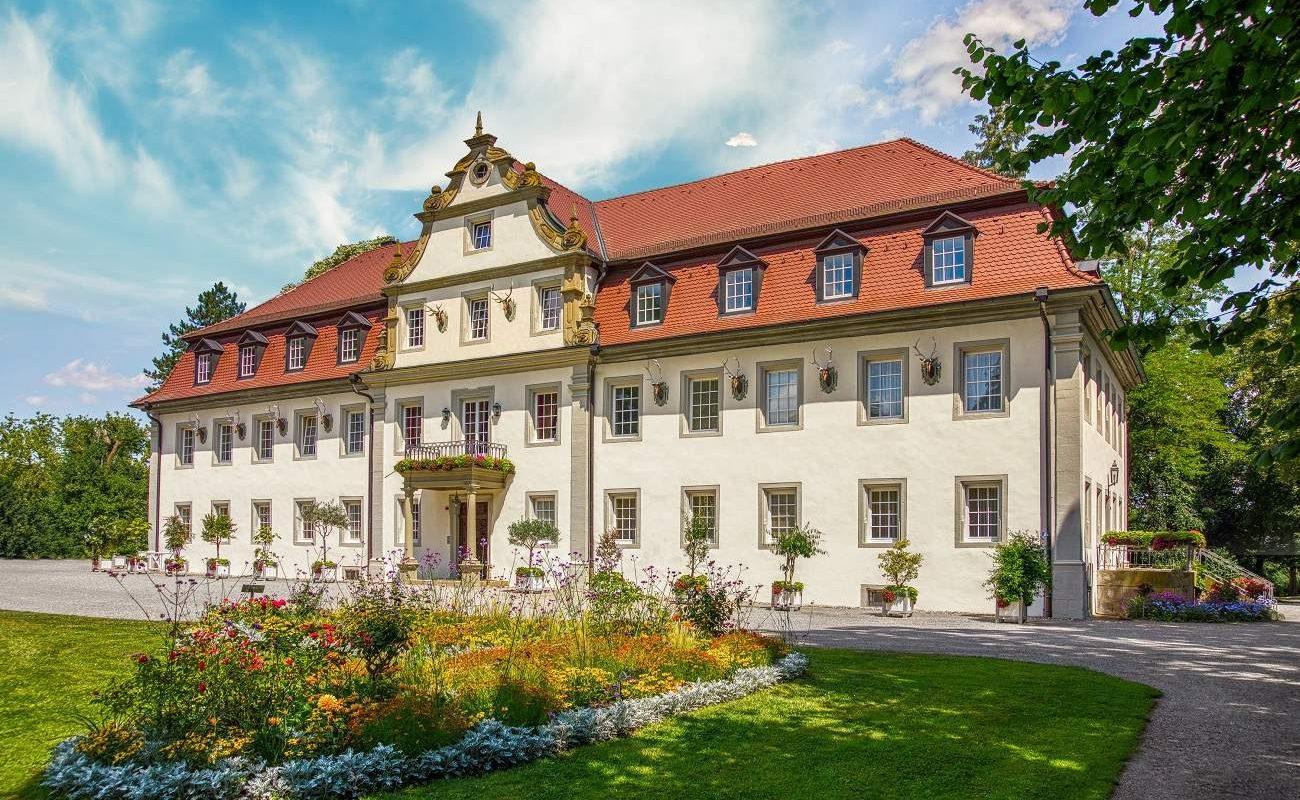 Das historische Schloss Friedrichsruhe