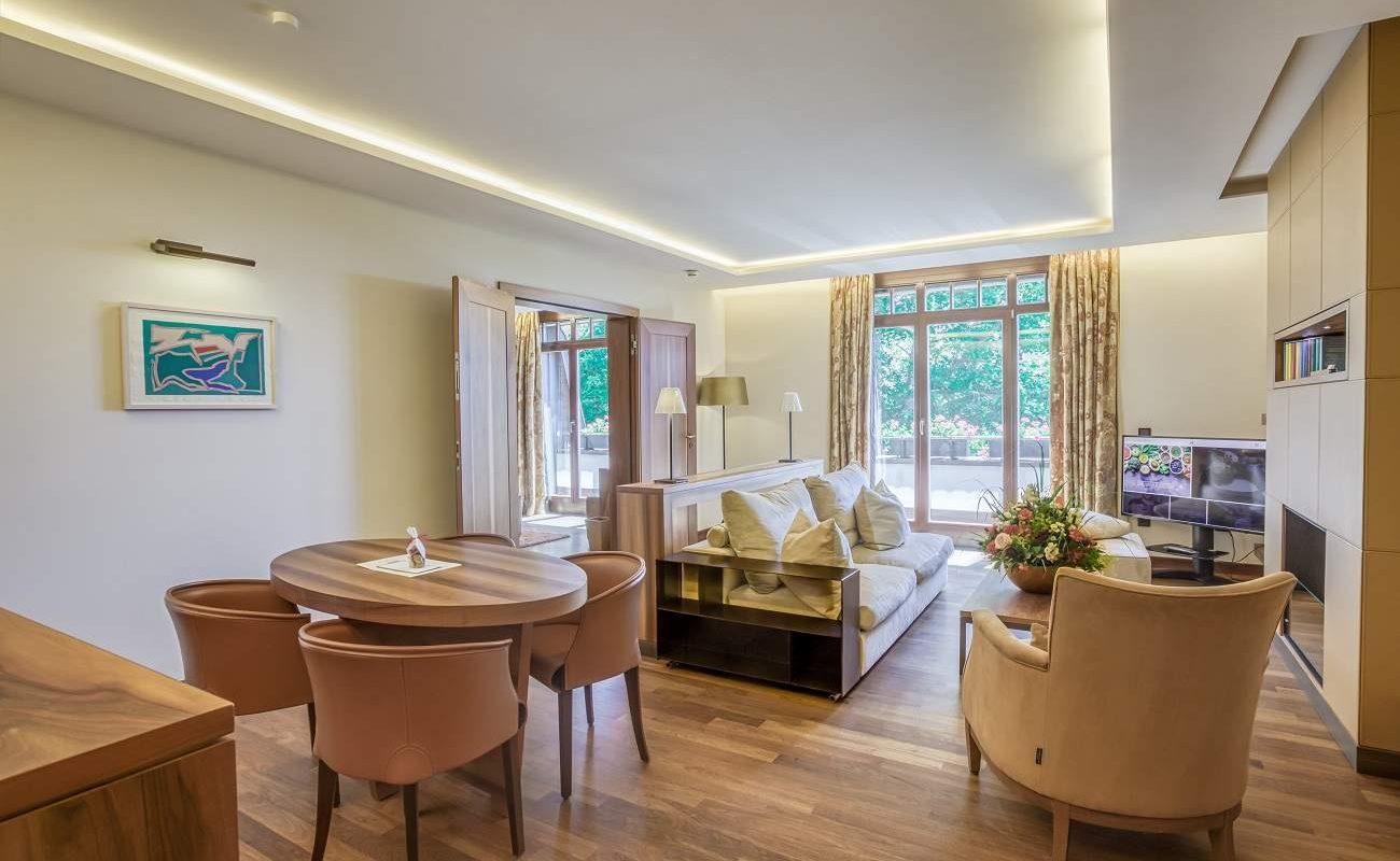 Deluxe Suite im SPA Haus des Schlosshotel