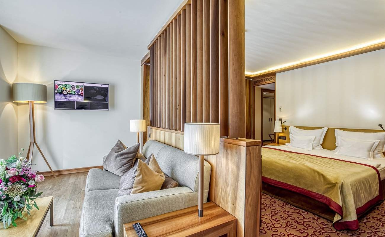 Superior Doppelzimmer im SPA-Haus von Friedrichsruhe