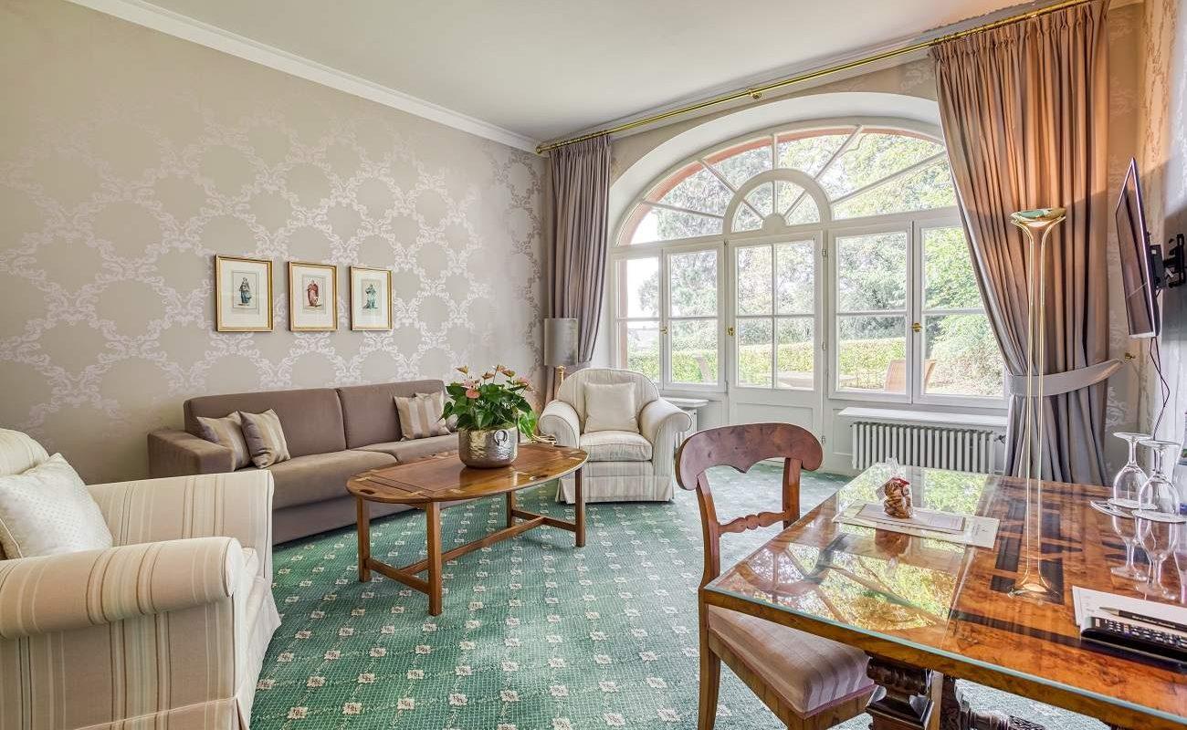 Deluxe Suite im Torhaus von Friedrichsruhe