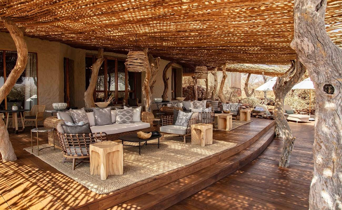 Lounge von The Motse, Tswalu