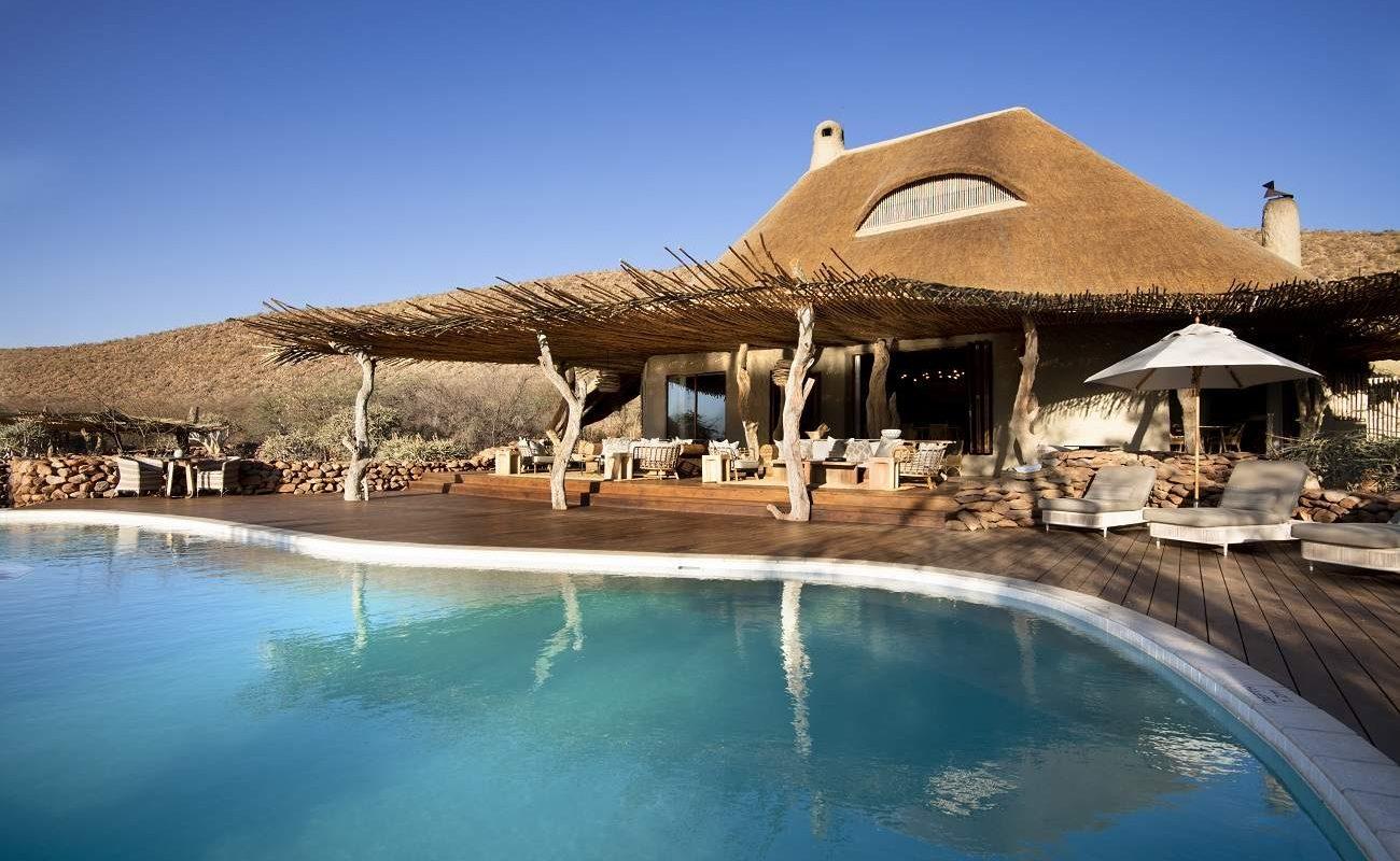 Pool von The Motse, Tswalu Kalahari