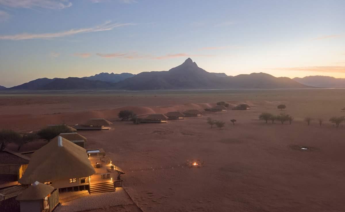 Kwessi Dunes Lodge - exklusive Flugsafari Namibia