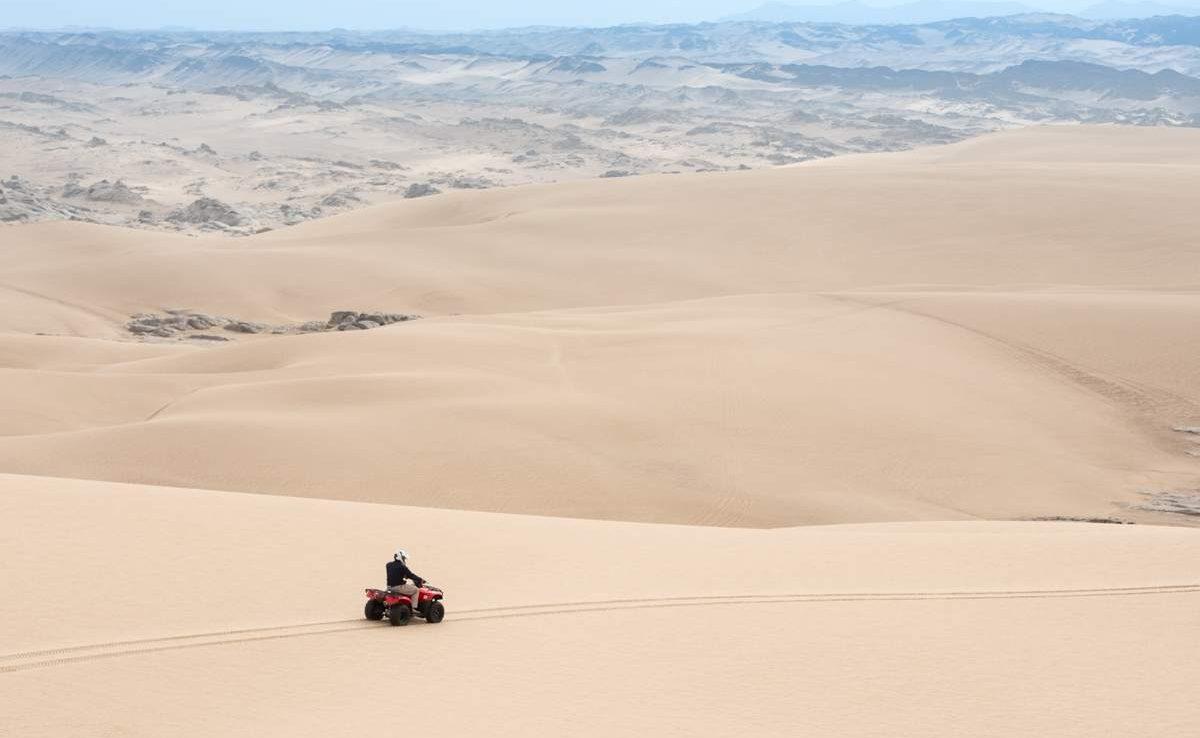 Quadbike fahren an der Skeleton Coast