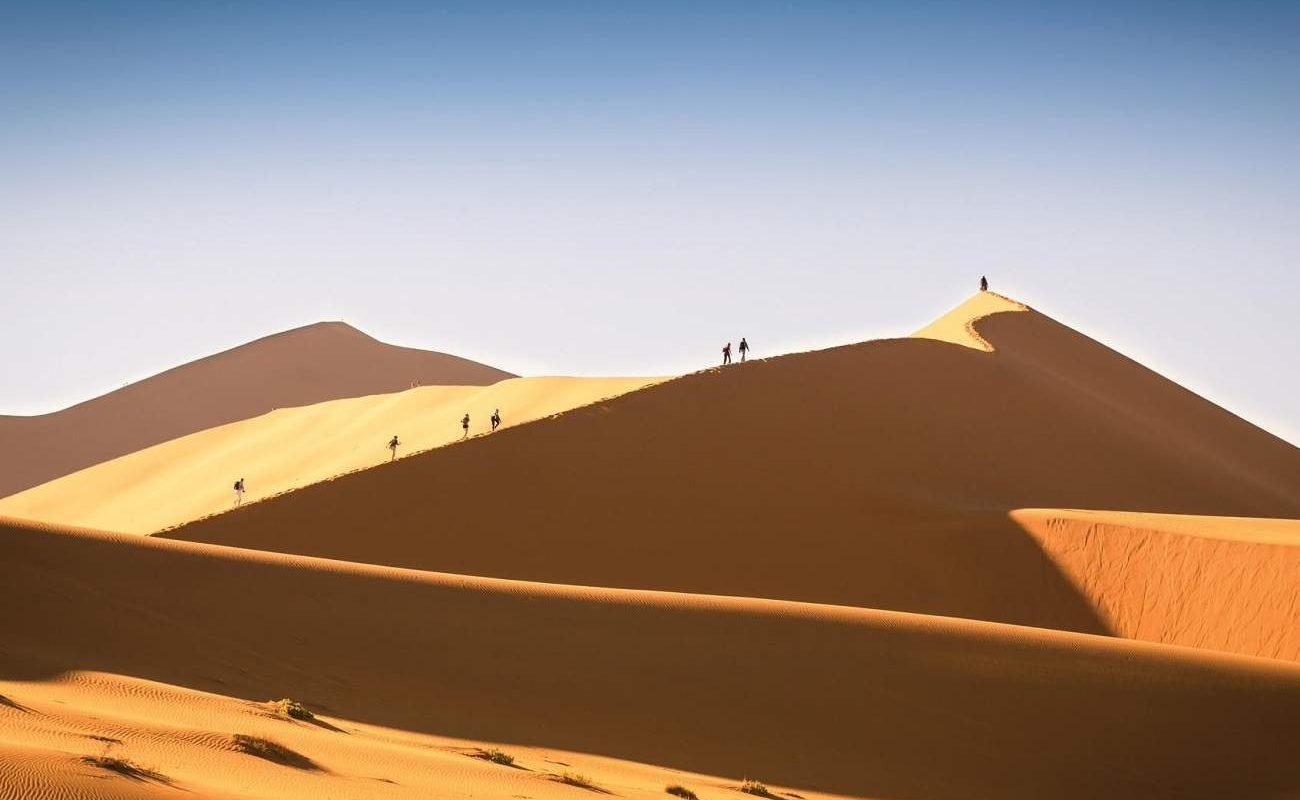 Höhepunkt der Reise Namibia für Genießer - das Sosusvlei