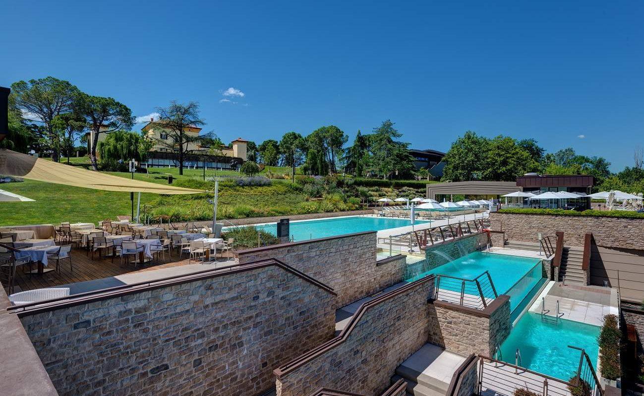 Outdoor Swimming Pools des Palazzo di Varignana