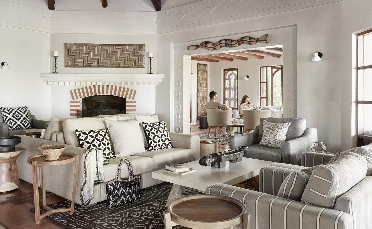 Lounge von Chobe Chilwero