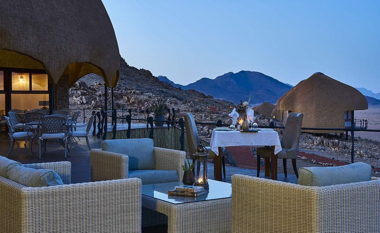 Dinner in der Desert Hills Lodge