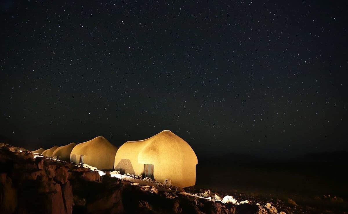 Der Sternenhimmel über der Namib
