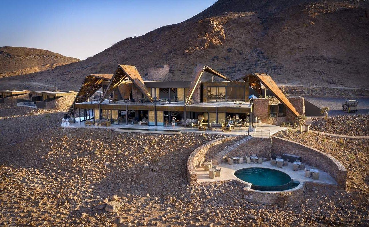 Haupthaus der Sossusvlei Desert Lodge