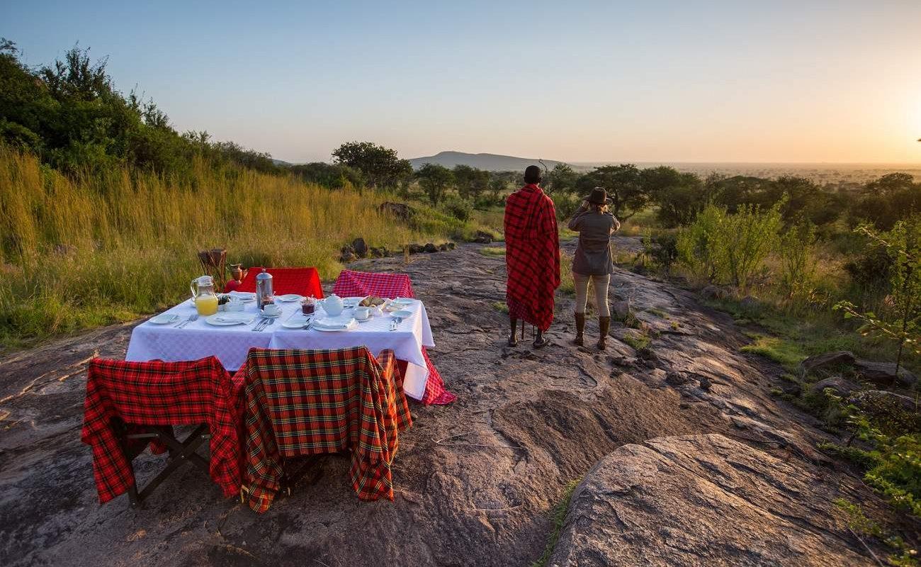Bush Breakfast Serengeti