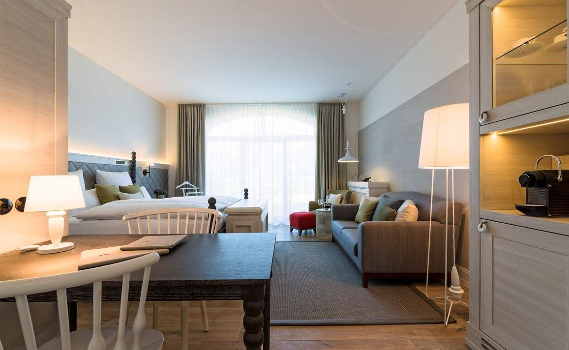 Terrassen Zimmer im Luxushotel