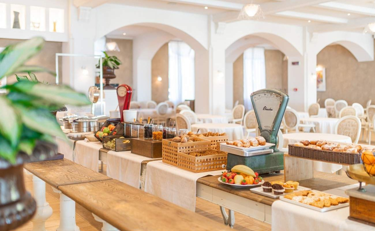 Frühstück im Grand Hotel Fasano