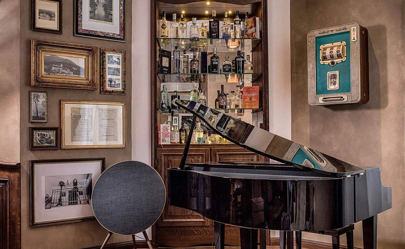 Gin Lounge im Grand Hotel Fasano