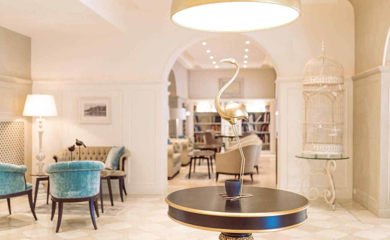 Lobby im Grand Hotel Fasano