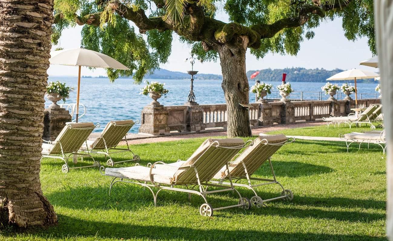 12.000 qm großer Park im Grand Hotel Fasano