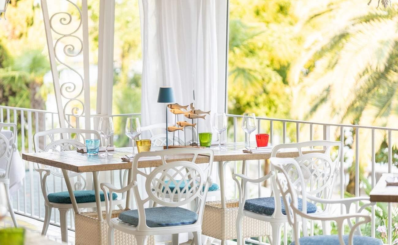 Restaurant Pescatore, Luxushotel am Gardasee