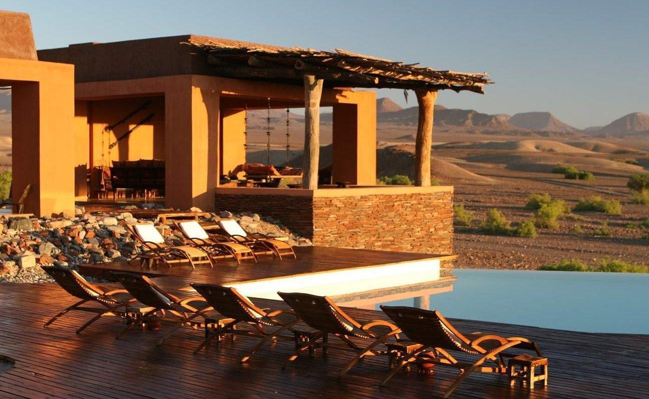 Okahirongo Elephant Lodge - Luxusunterkunft der Rundreise durch Namibias einsamer Norden
