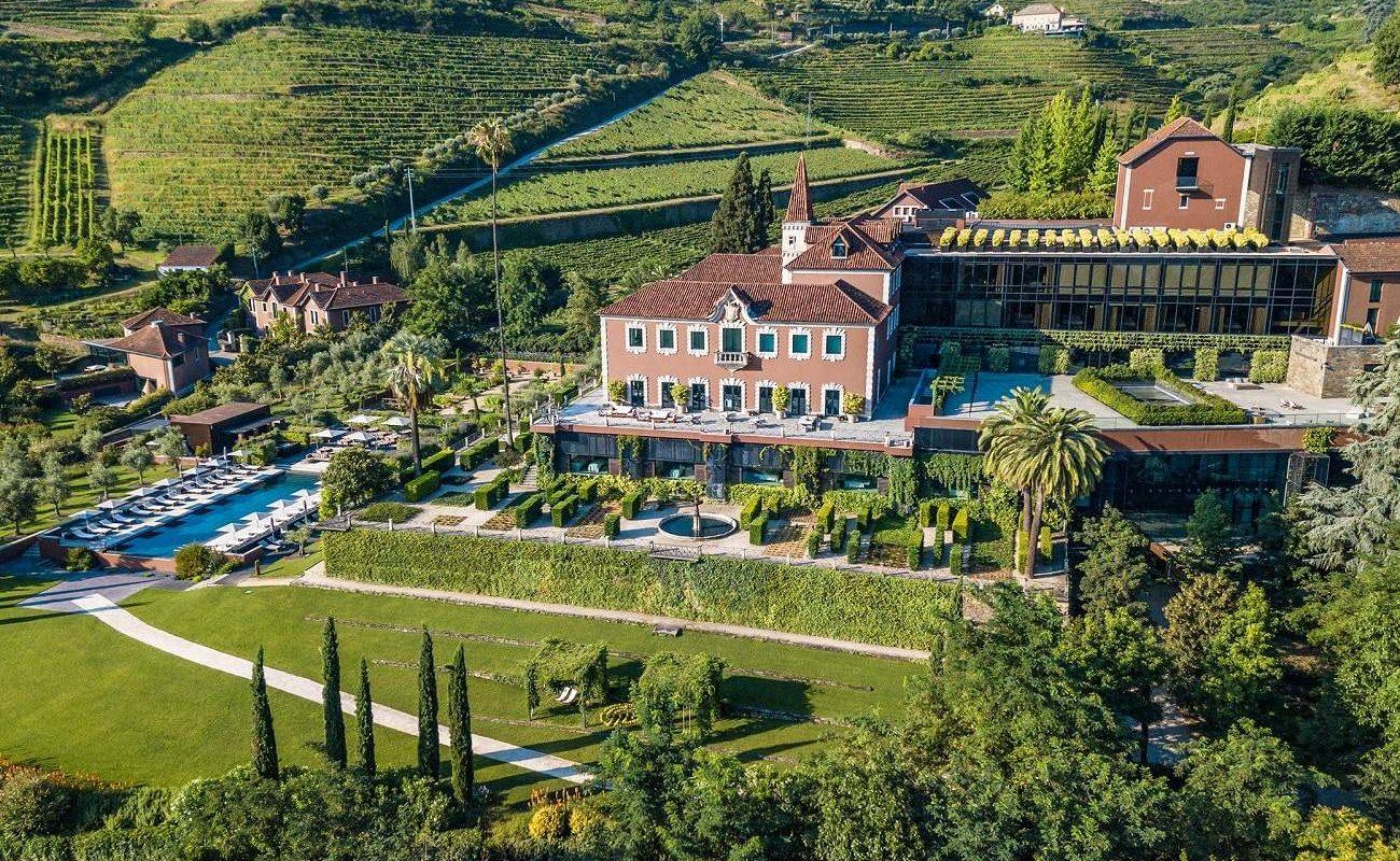 Der herrliche Garten des Six Senses Douro Valley