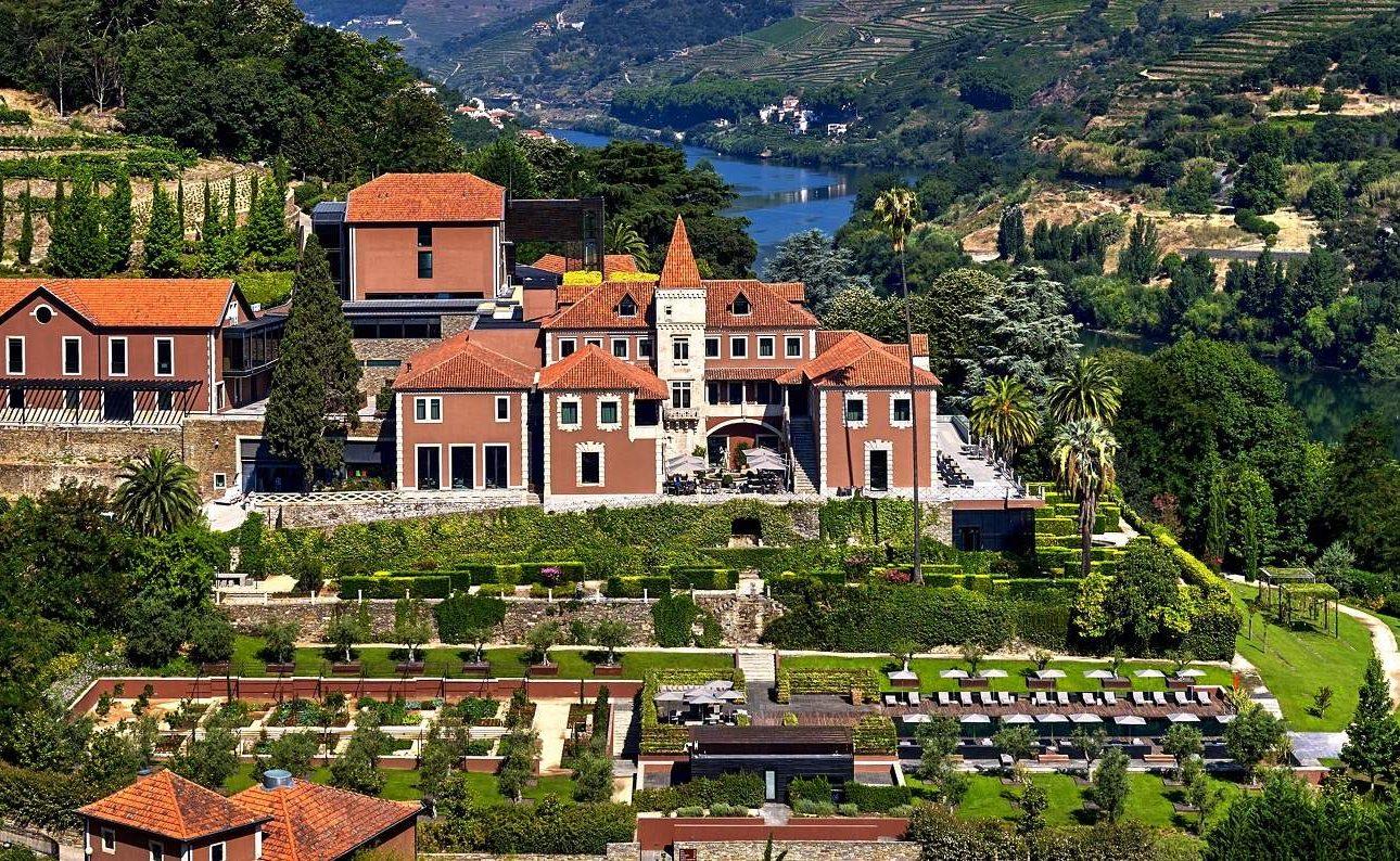 Gesamtansicht des Six Senses Douro Valley