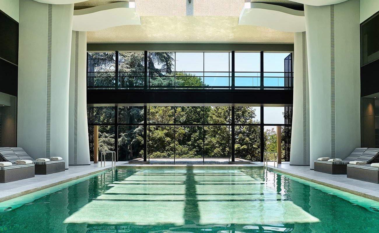 Pool im Spa des Six Senses
