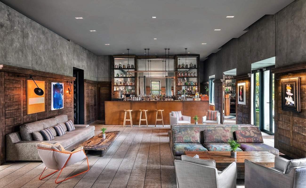 Lounge Bar im Six Senses Douro Valley