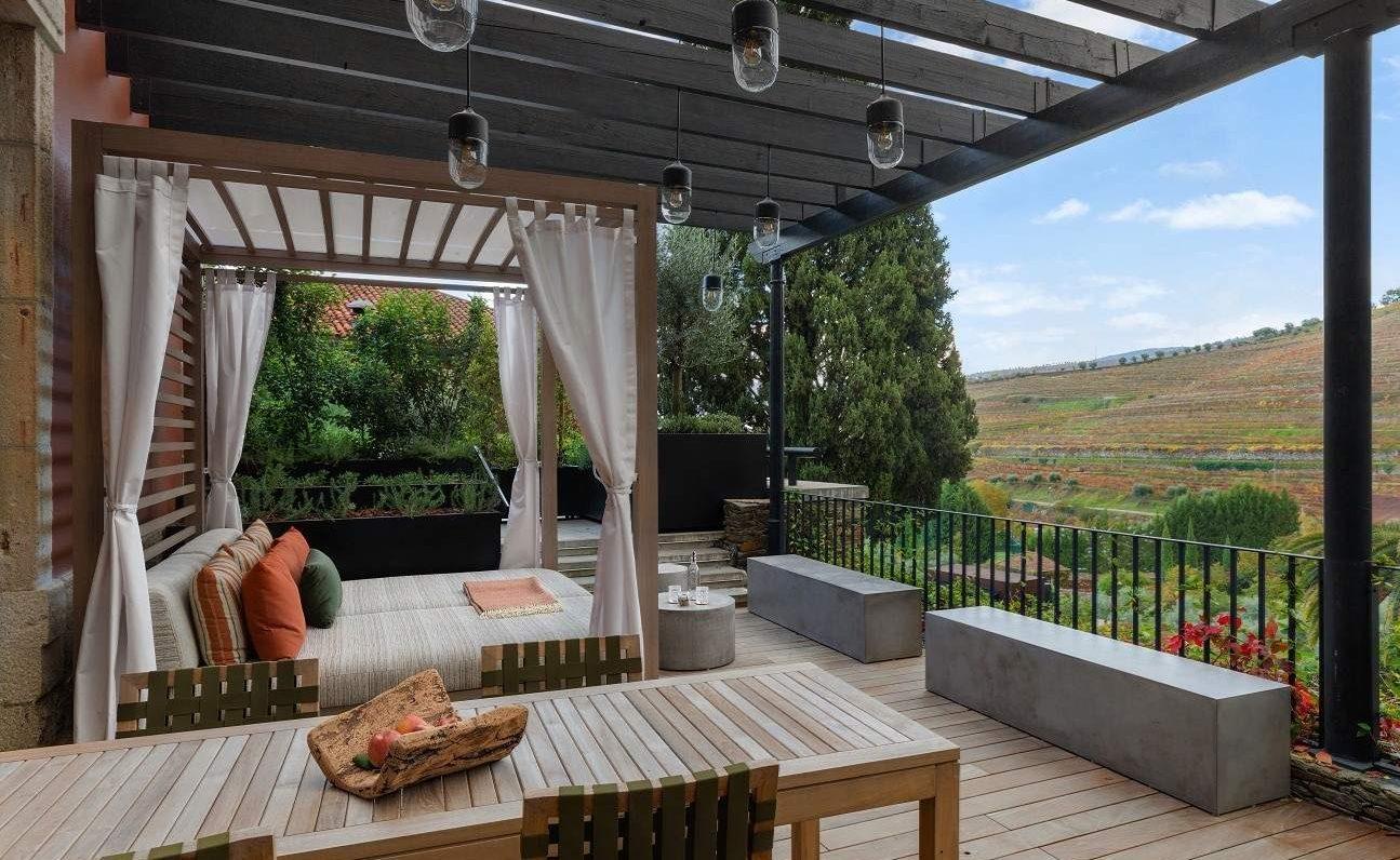 Vineyard Premier Terrace Zimmer im Six Senses Douro Valley