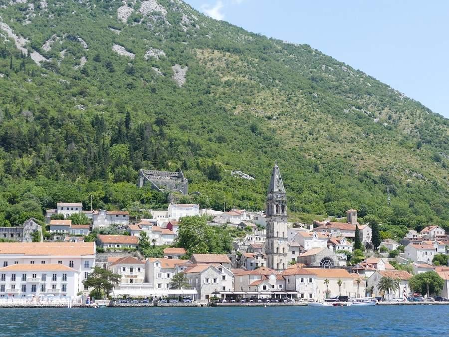 Panorama von Perast