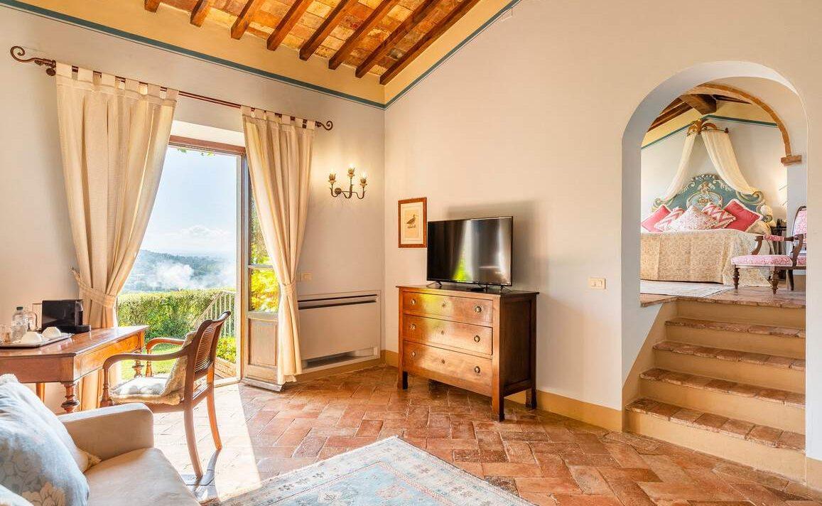 Historische Suite im Il Falconiere