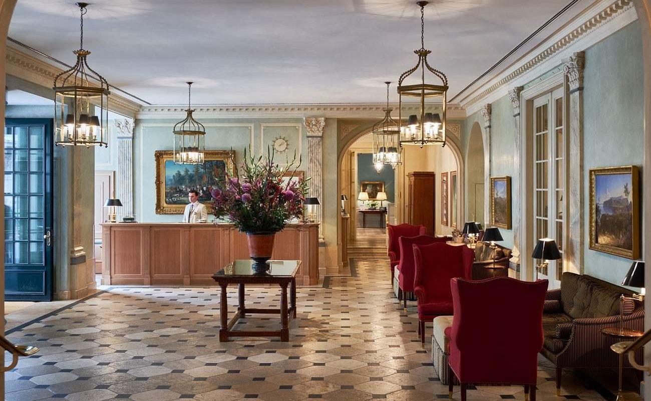 Lobby des Luxushotels der Oetker Collection