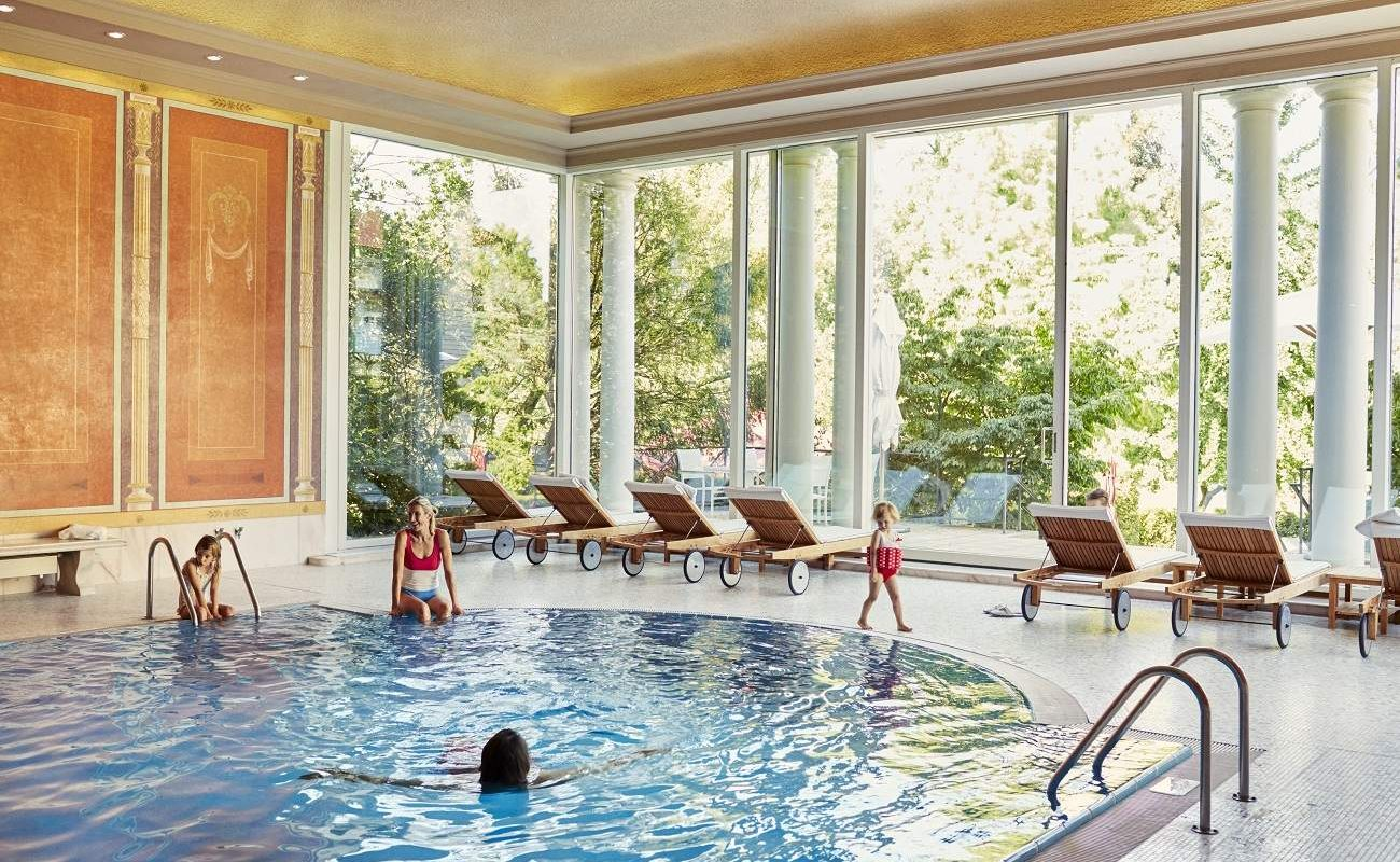 Pool Brenners Park-Hotel & SPA