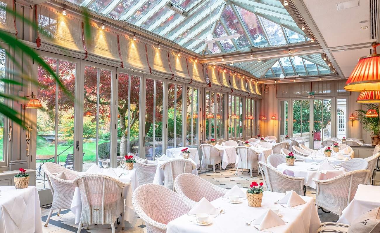 Wintergarten im Brenners Park-Hotel