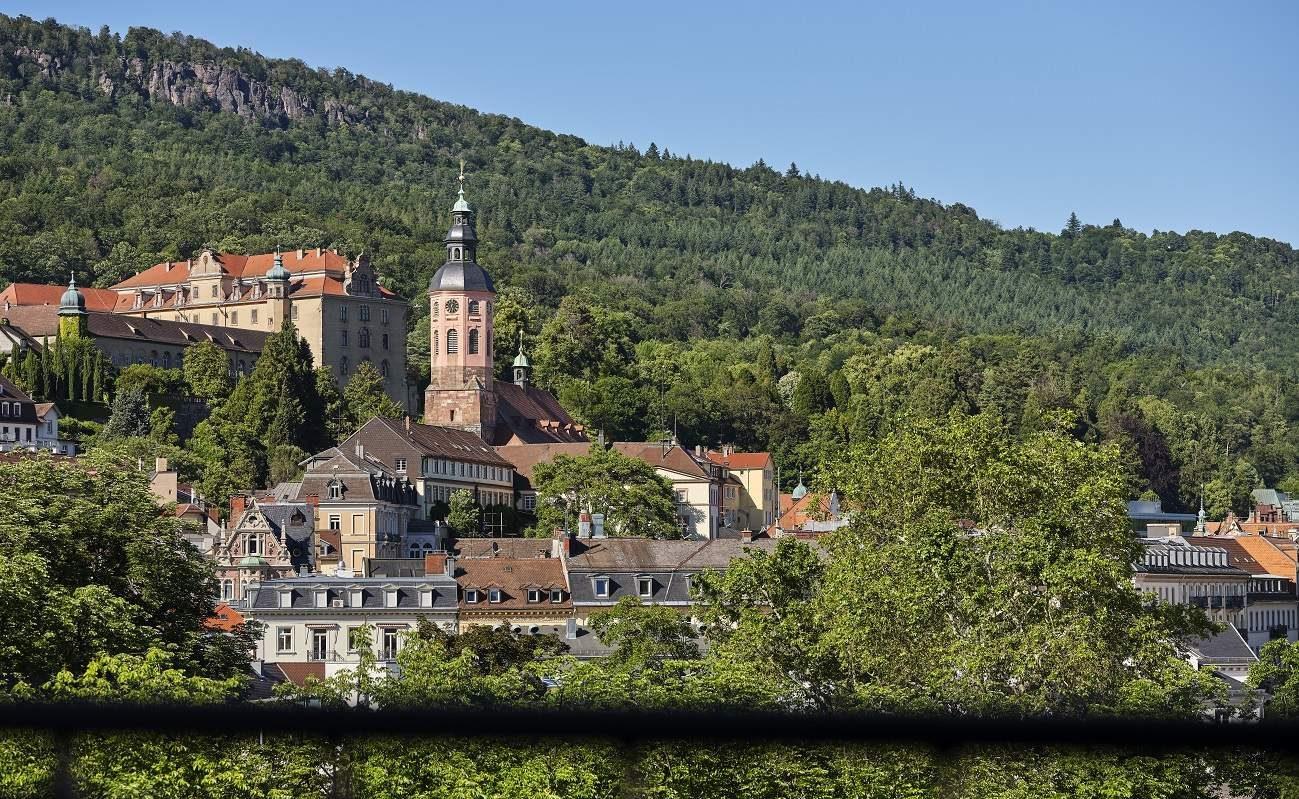 Blick auf Baden Baden vom Maison Messmer