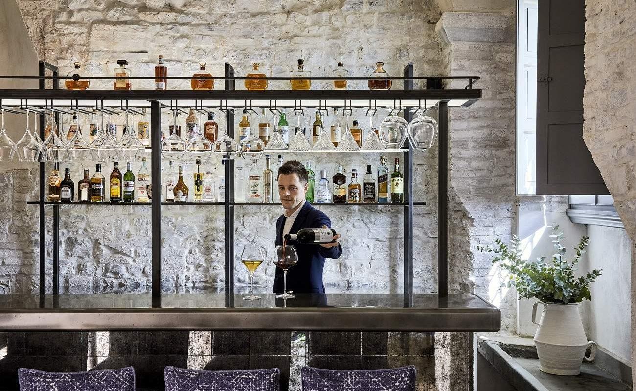 Bar La Taverna im Castello del Nero