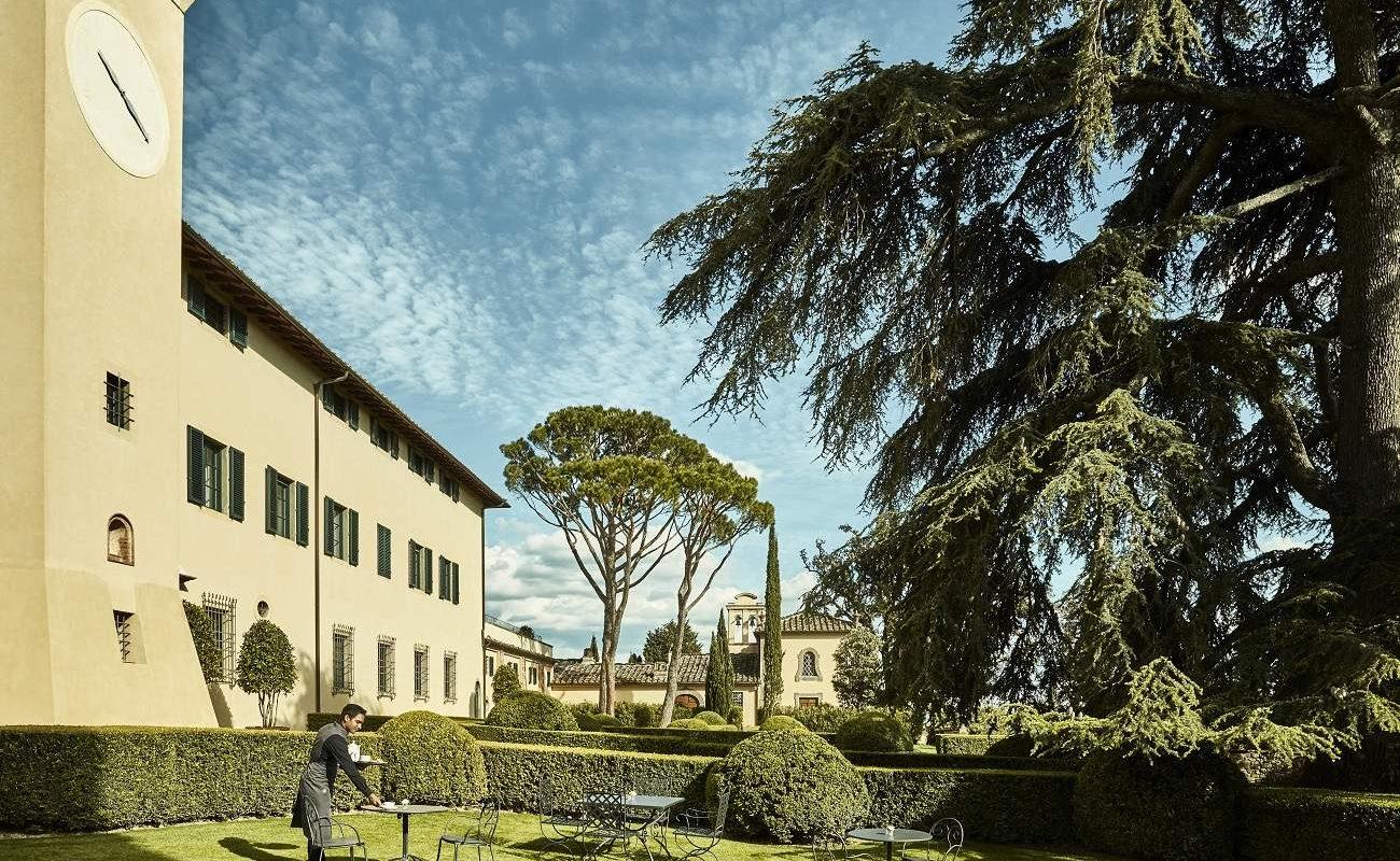 Kapelle des COMO Hotels in der Toskana