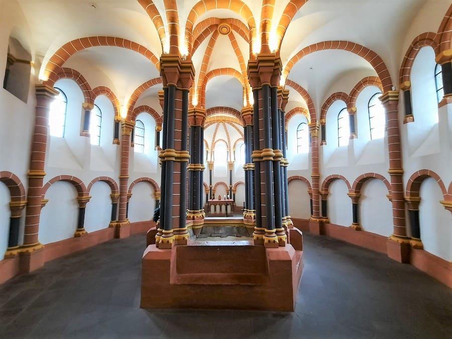Kapelle im Schloss von Vianden